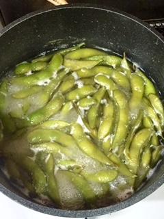 美味しい枝豆のおつまみ
