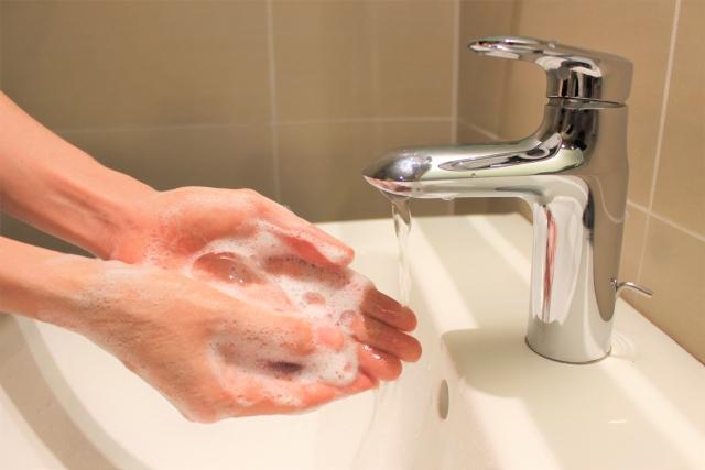 h3手洗い・消毒の徹底